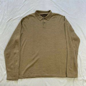 Perry Ellis 100% Merino Wool Pullover Sweater XXL